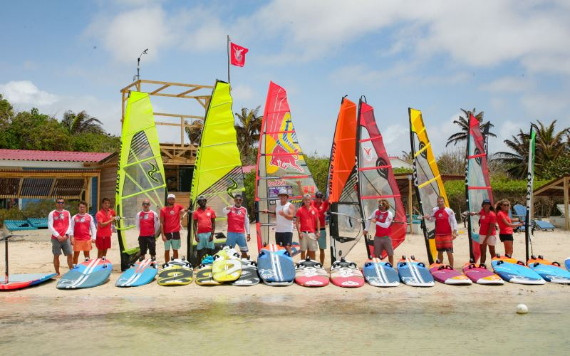 Windsurfen Bonaire Windsurfaub Windsurfreisen Windsurfen An Den