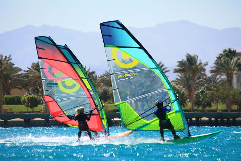 Windsurfen Abu Soma Bay Windsurfaub Windsurfreisen Windsurfen