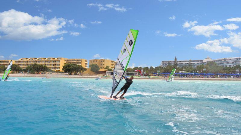 Windsurfen Rhodos Trianda Windsurfaub Windsurfreisen Windsurfen